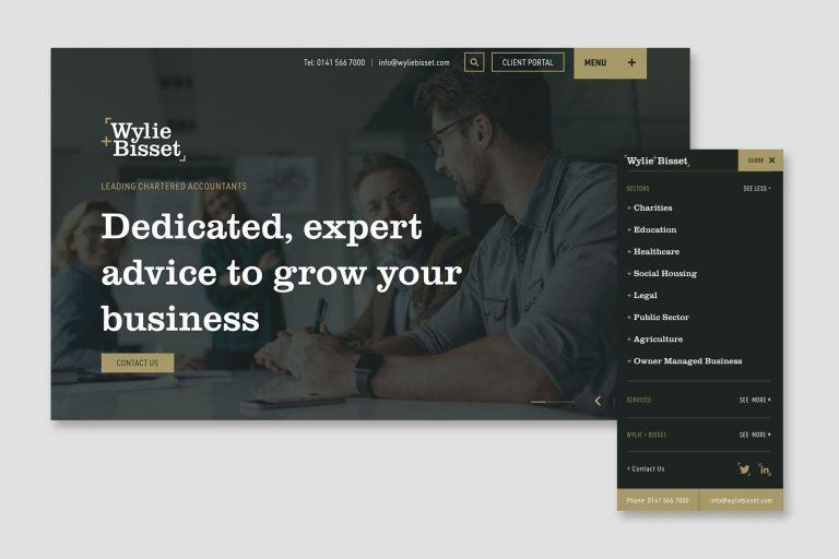 A new website for Wylie & Bisset