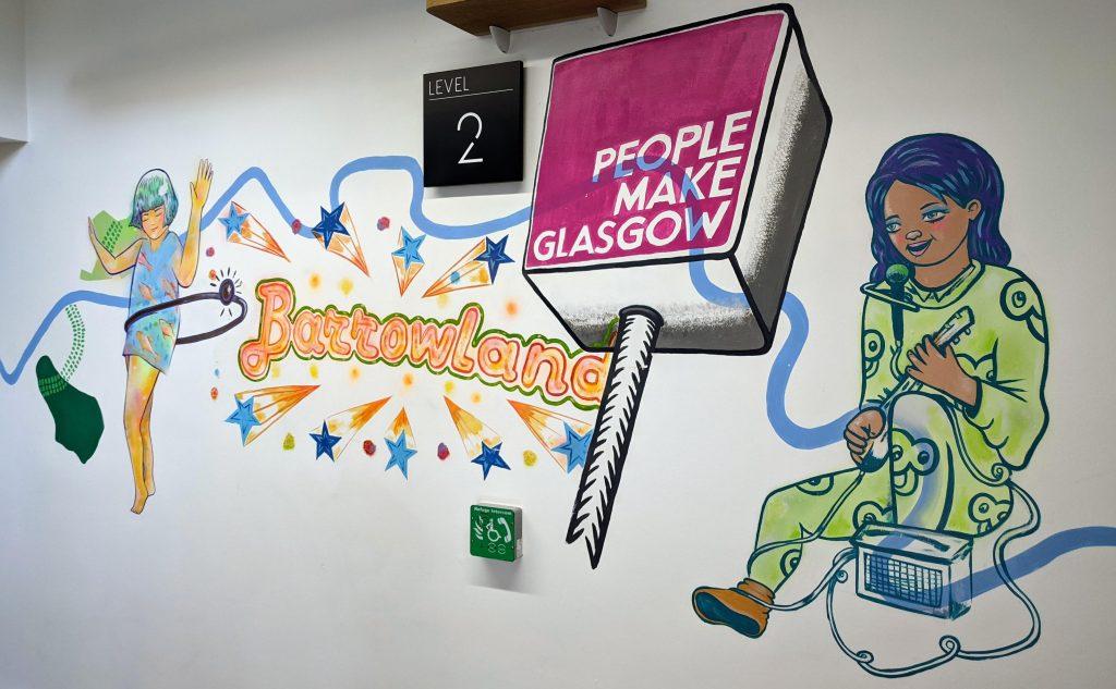 People Make Glasgow mural
